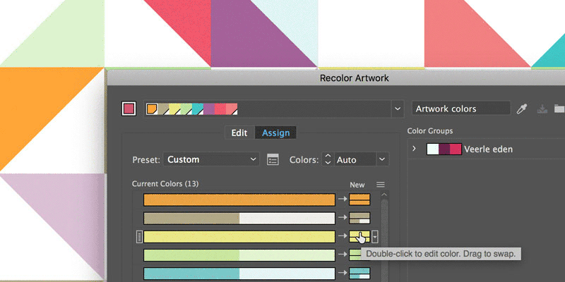Recolor Your Artwork in Adobe Illustrator