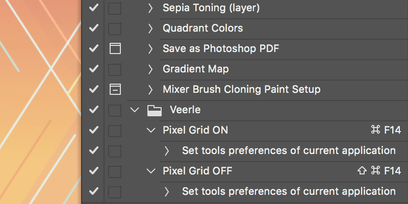 Quickly Turn Transform to Pixel Grid On/Off in Adobe Photoshop