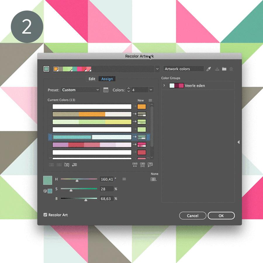 2. Combine Colors