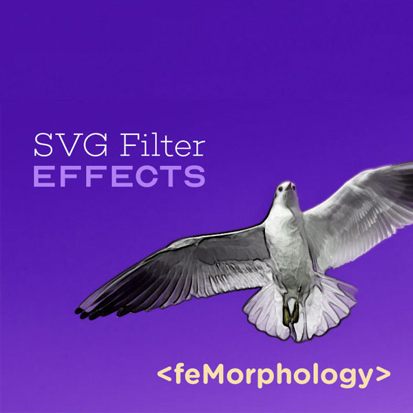 SVG Filter Effects: Outline Text with feMorphology