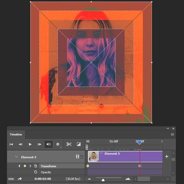 How to Create an Animated Photo Reveal for Instagram in Adobe Photoshop