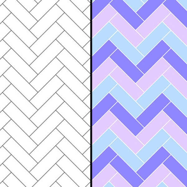 How to Make a Herringbone Pattern in Illustrator