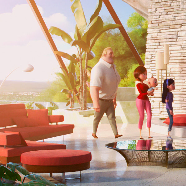 The Graphic Art of Incredibles 2