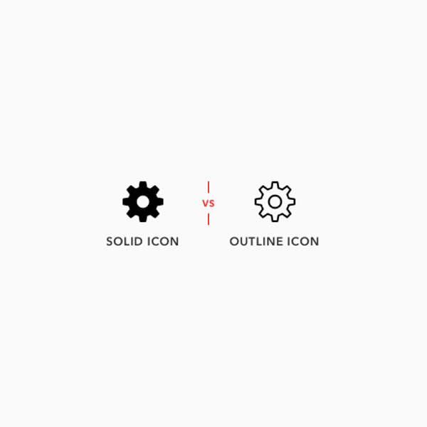 Solid Vs. Outline Icons: Which Are Faster to Recognize?