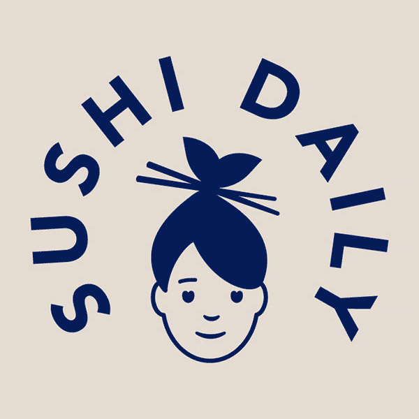 Sushi Daily Logo Design