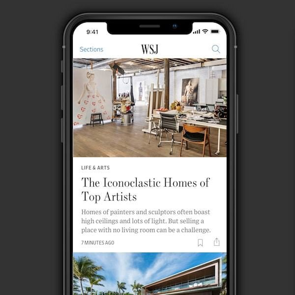 Redesigning the WallStreet Journal iPhone App