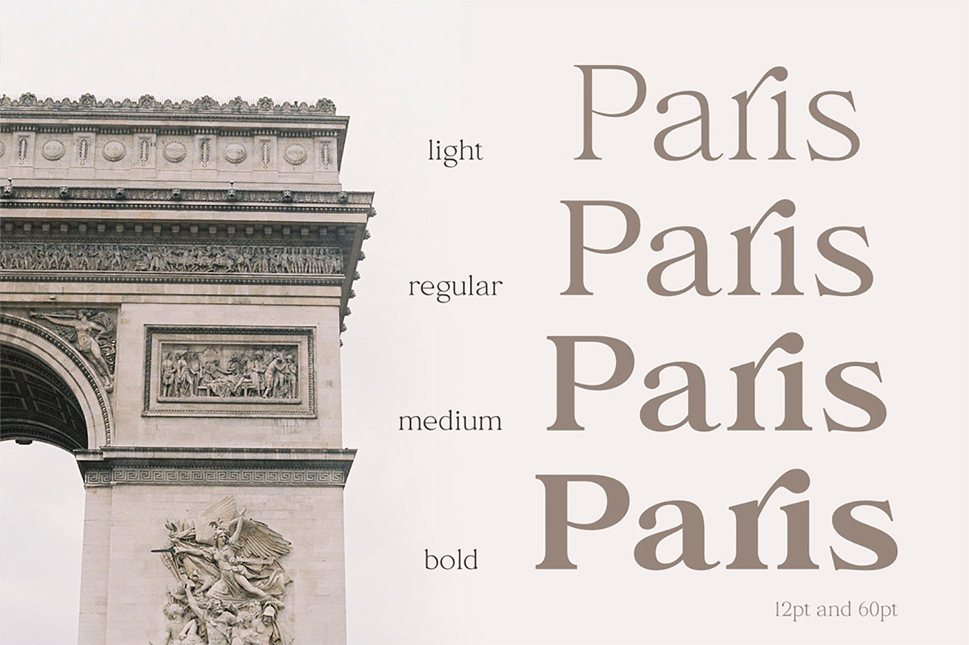This is an elegant serif font family which includes 4 weights.