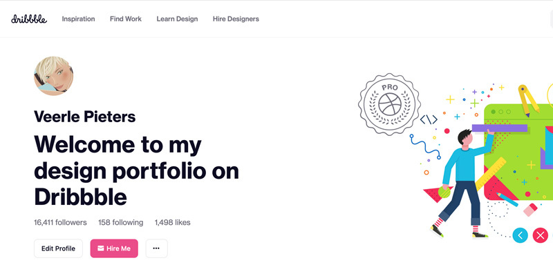 First 5K Dribbble users