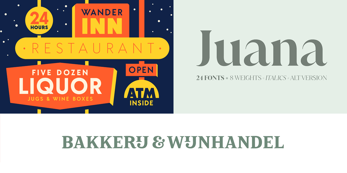 The Font Collector's Handpicked Selection