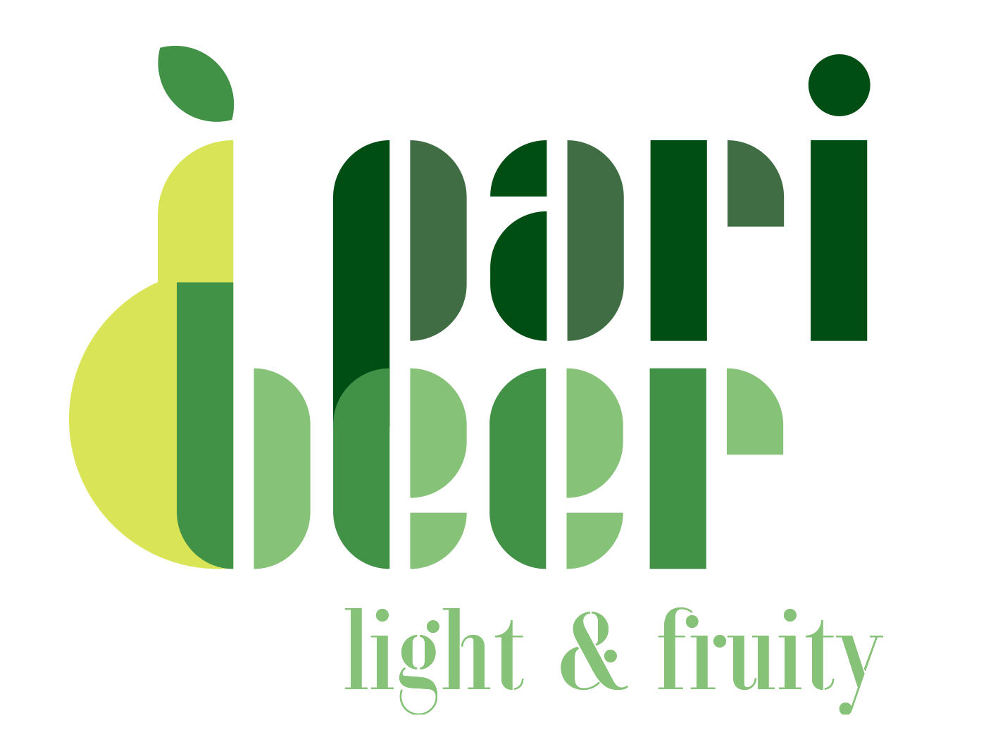 Final result of the Paribeer logo
