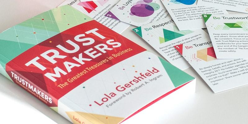 Be Cards & Trustmakers Book Cover Design