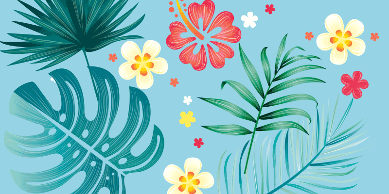 Creating Tropical Leaves Art Brushes in Adobe Illustrator