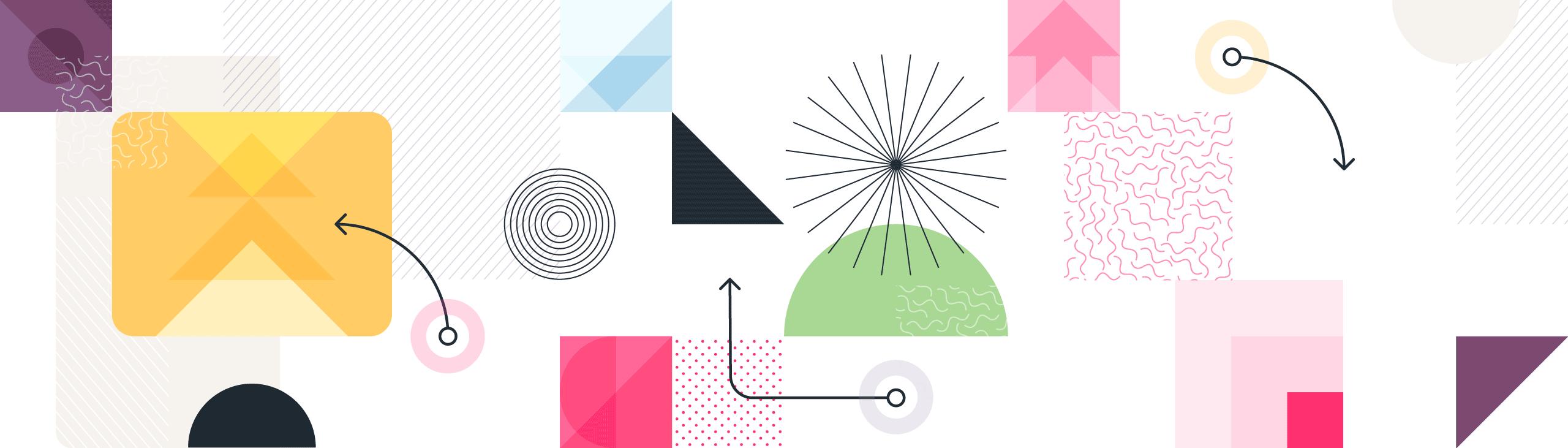 Geometrical banner