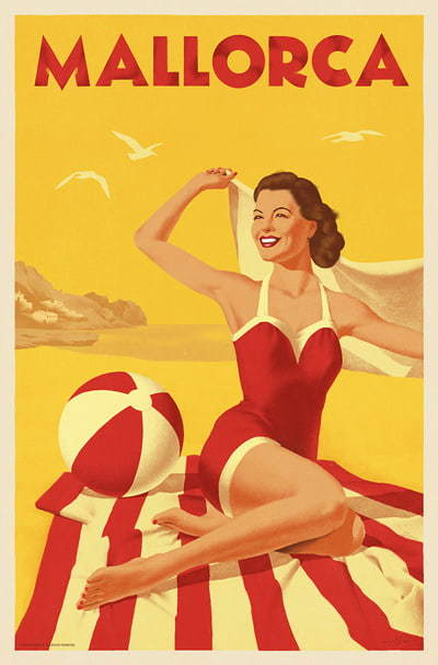 Mallorca Travel Posters