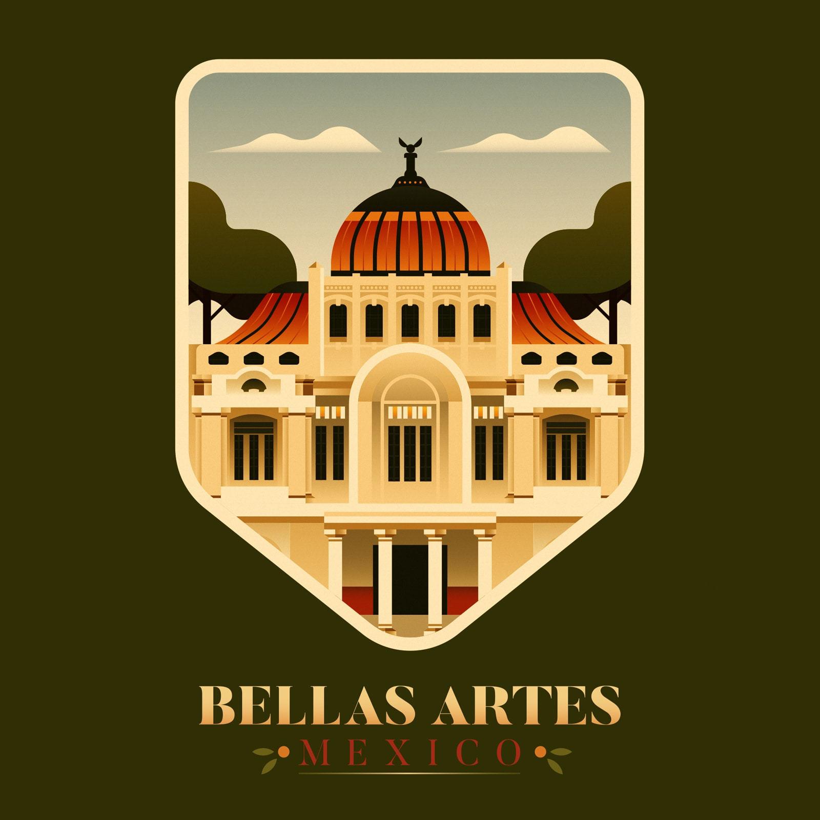 Bellas Artes - Mexico City