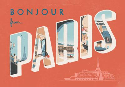 Bonjour From Paris