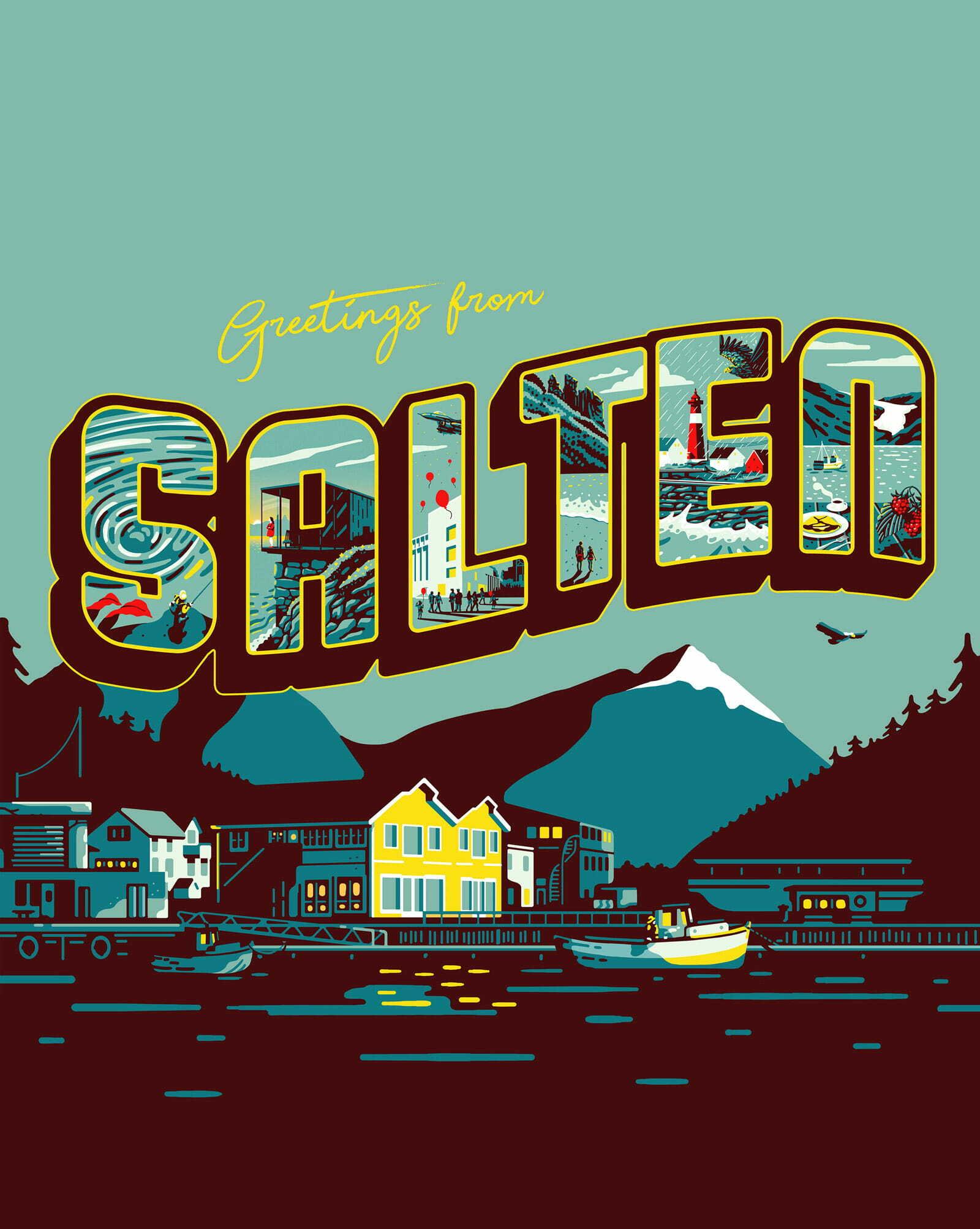 Greetings from Salten