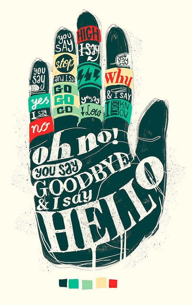 Hello - Goodbye