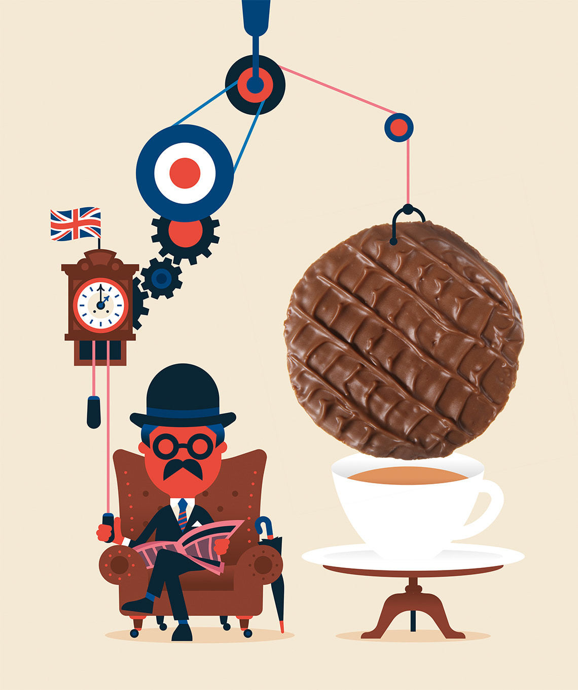 The History of the Chocolate Biscuit