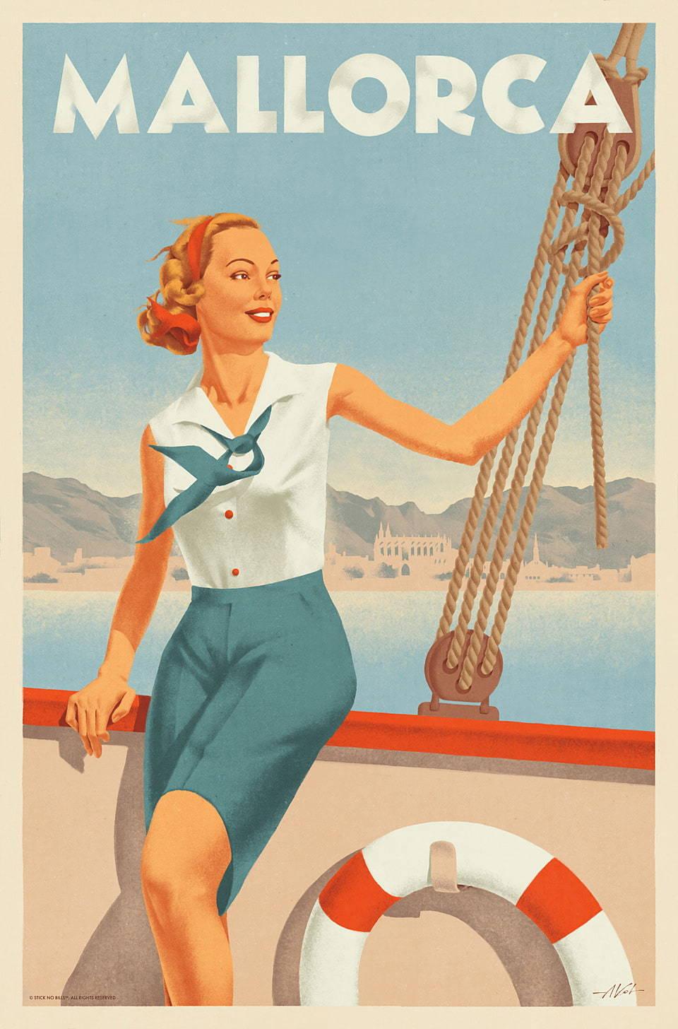 Mallorca Travel Posters II