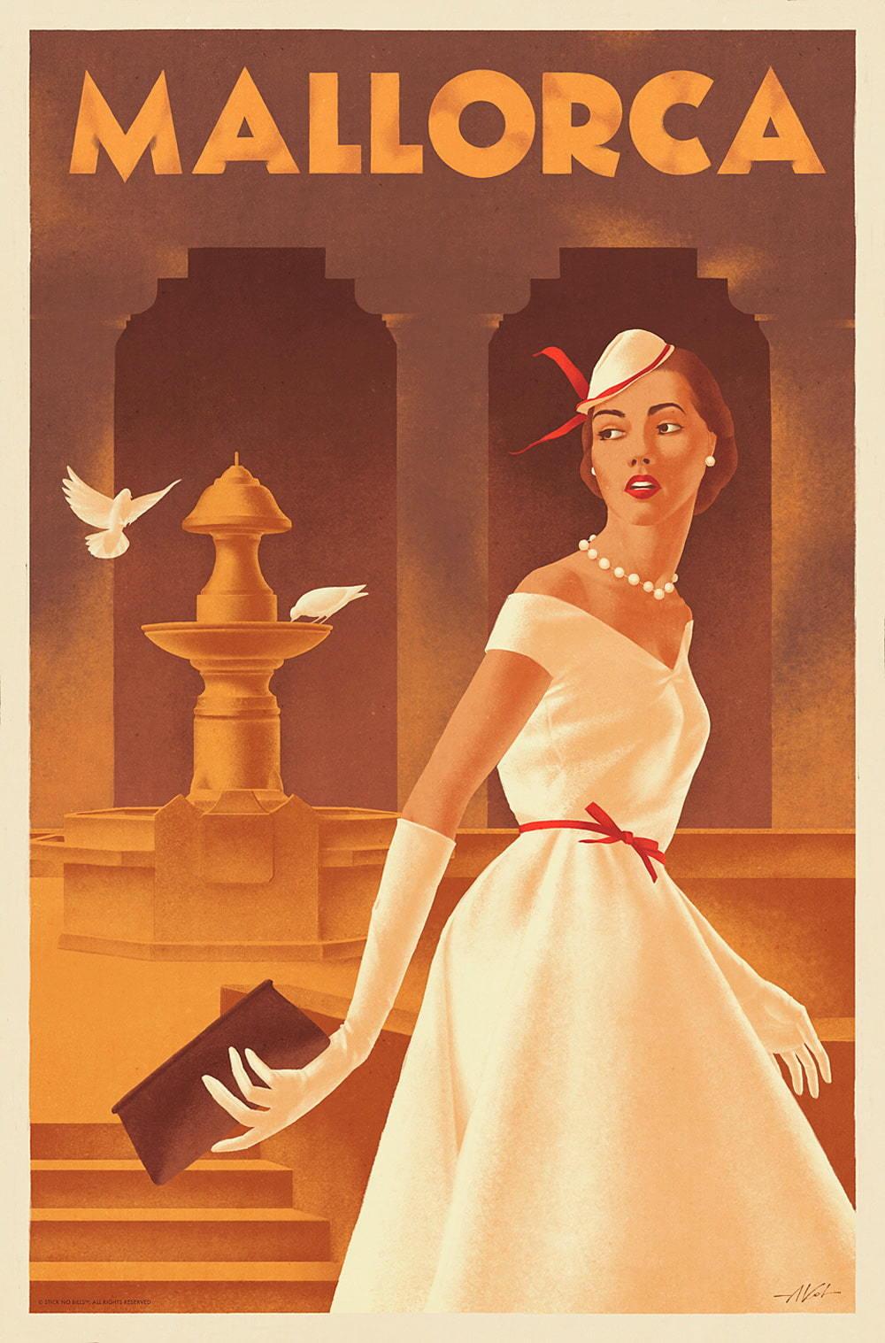 Mallorca Travel Posters III
