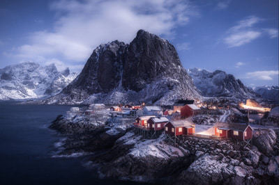 Moonlight in Noruega