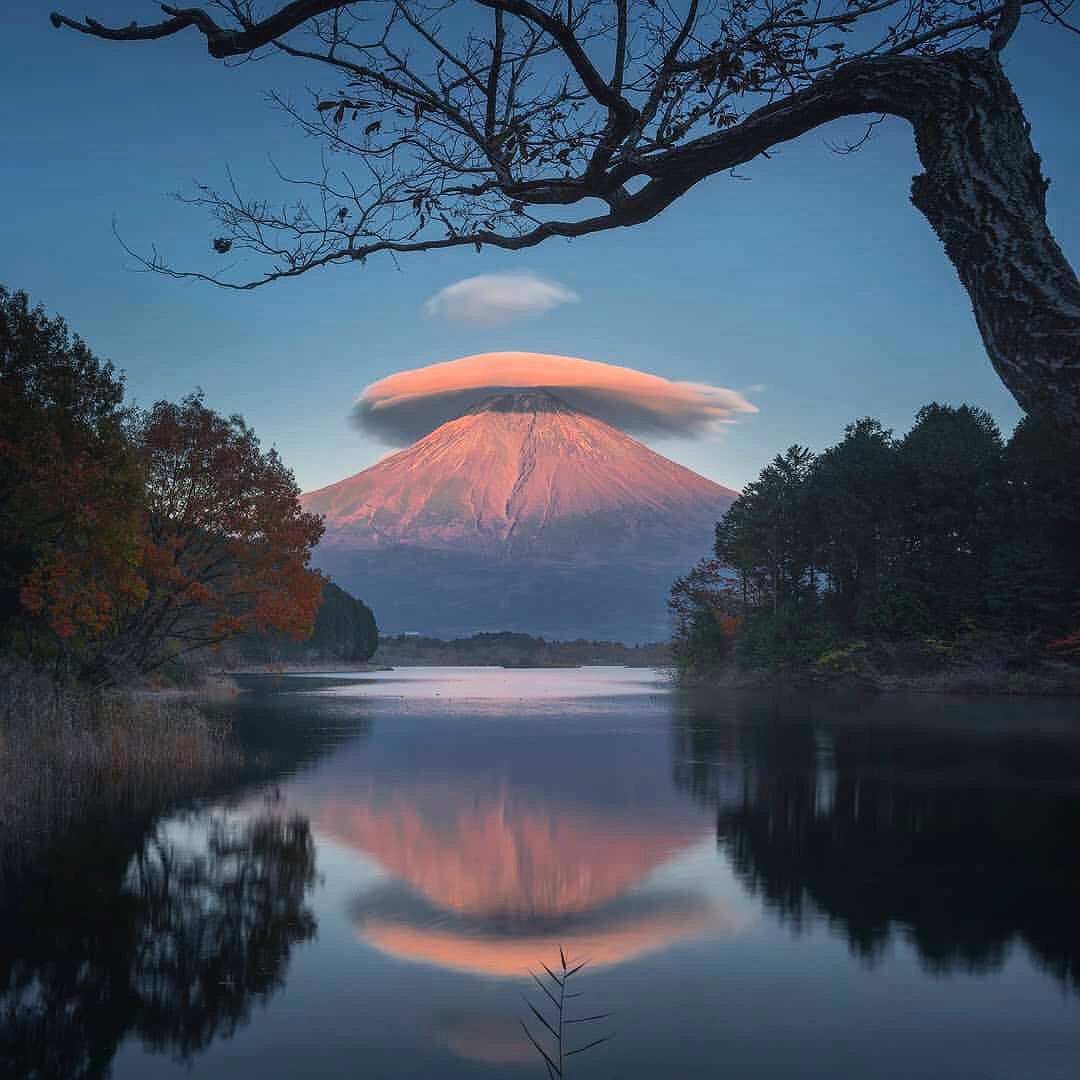 Lenticular Cloud Fuji