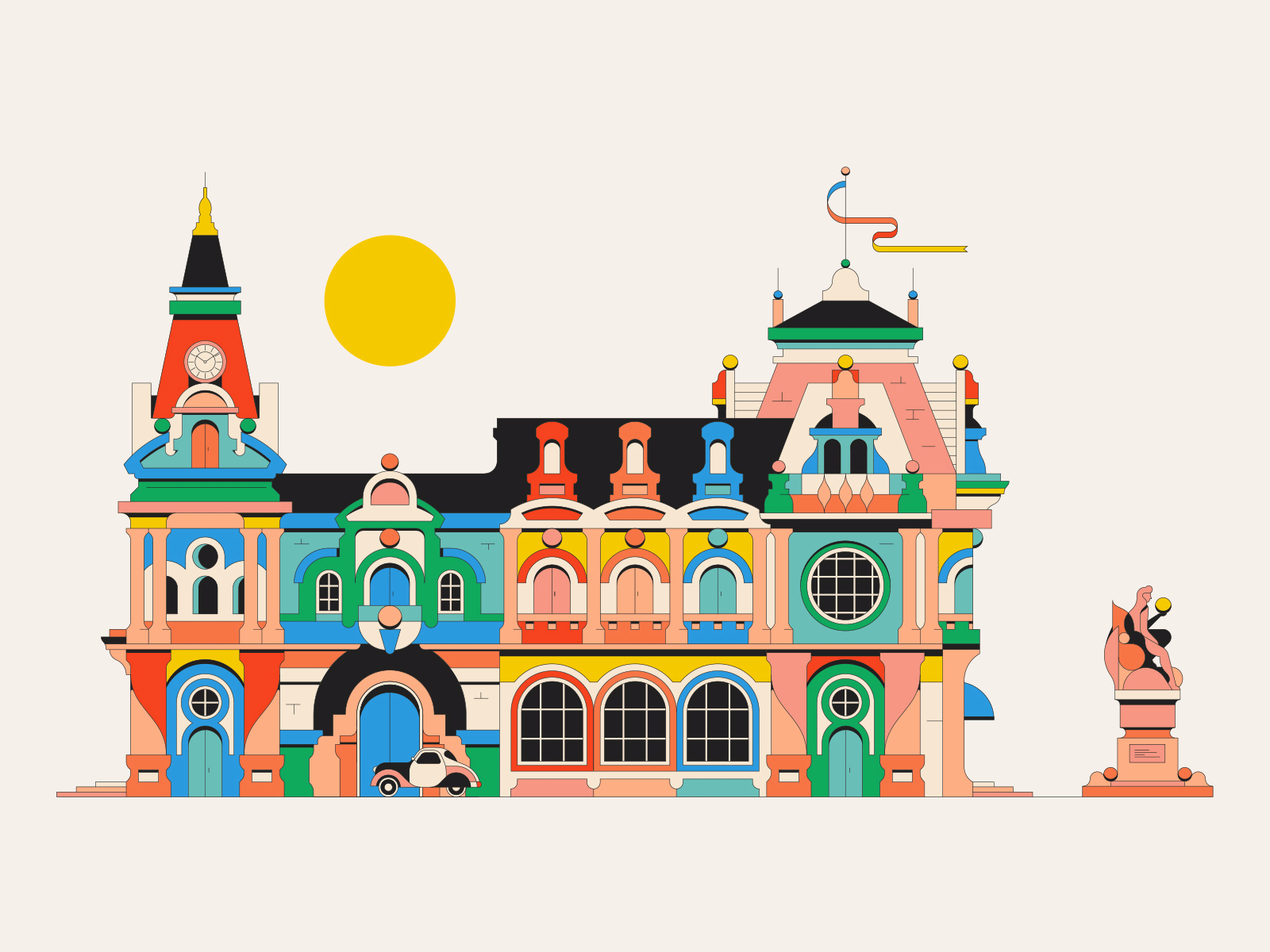 The Palace of Color