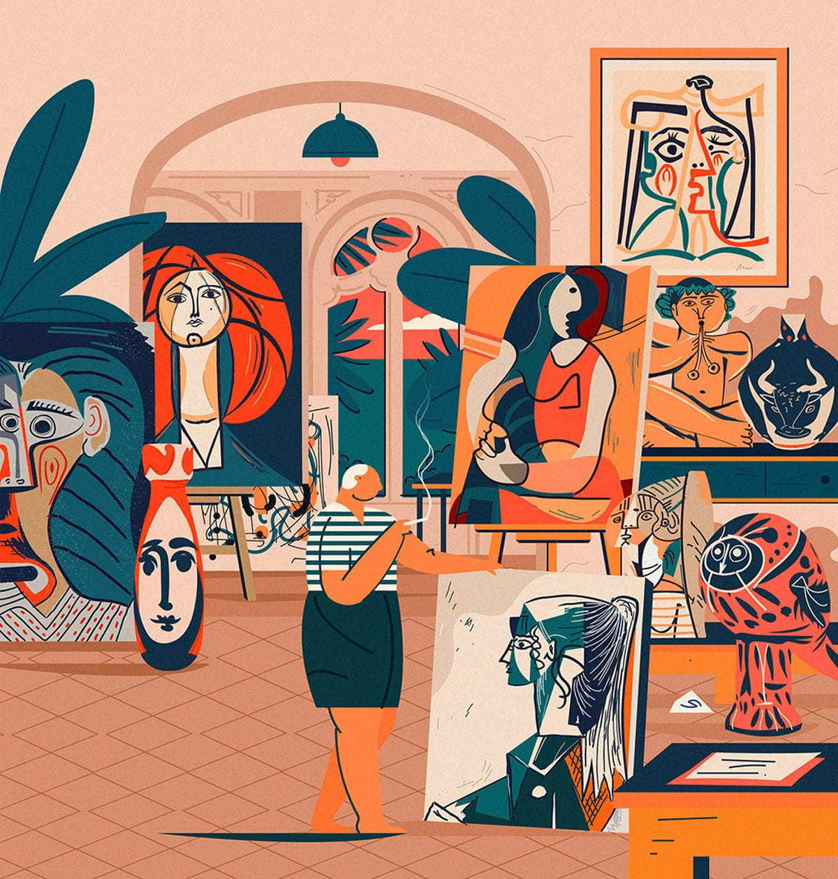 Picassos Studio