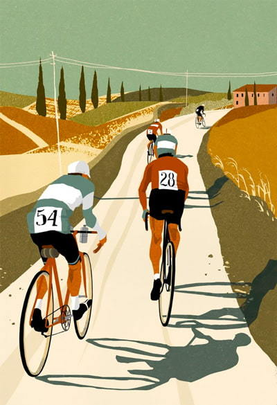 Riding Tuscan Roads