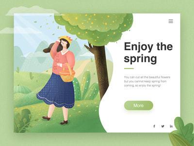 Spring -  yudanya