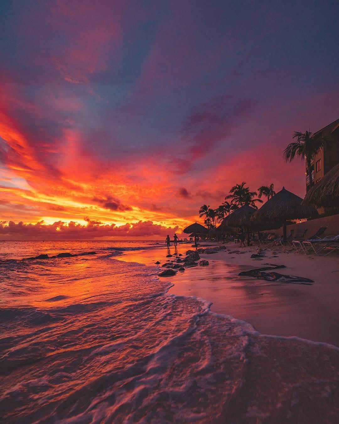 Sunsets in Aruba
