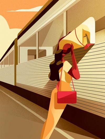 Train Goodbyes