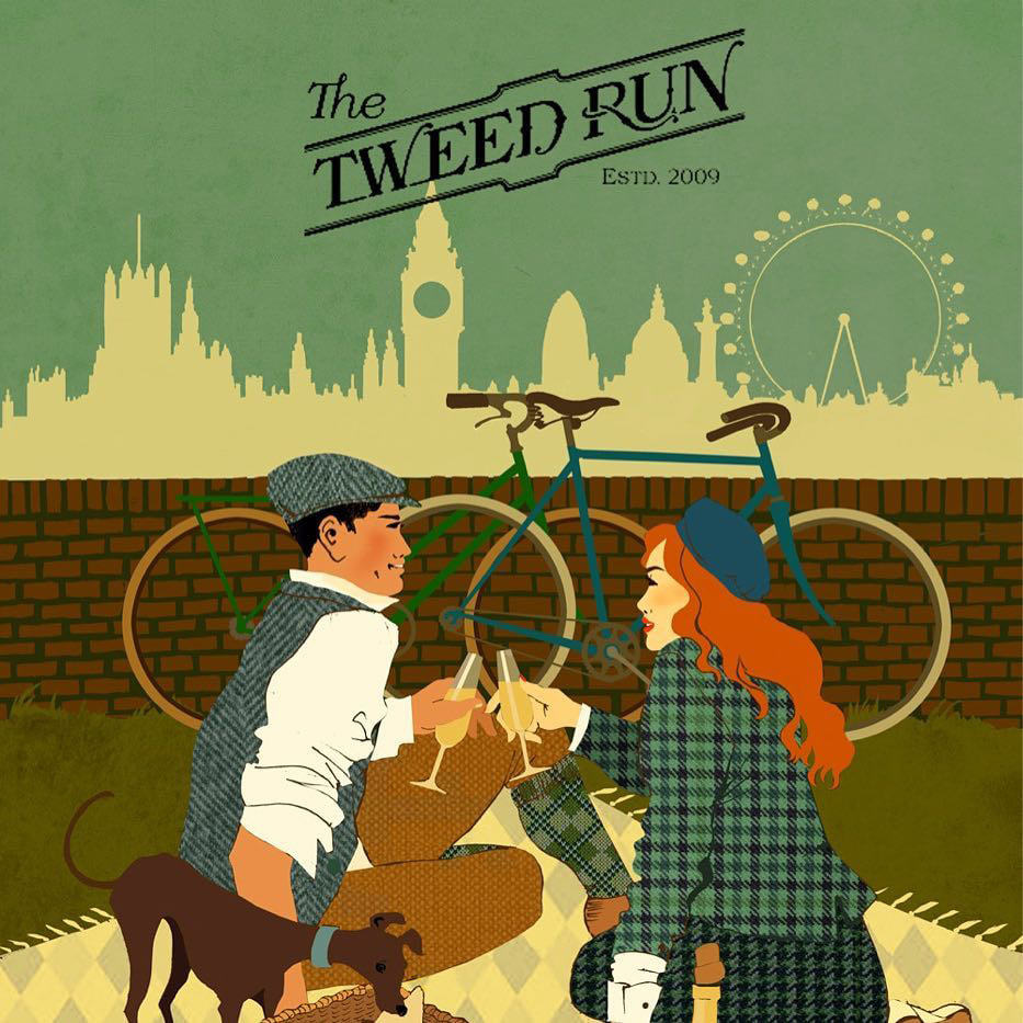 Tweed Run 2019