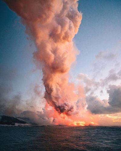 Watch Molten Lava Flow
