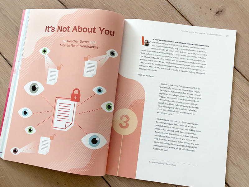 Smashing Magazine Print inside layout fo the magazine