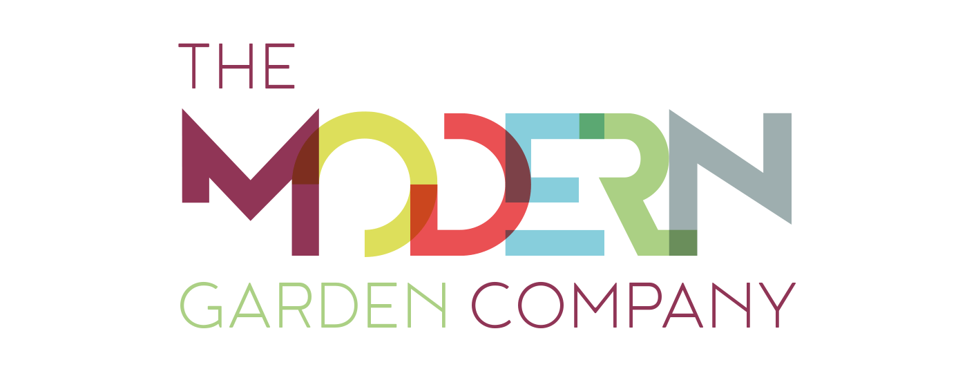 The Modern Garden Company logo brand & website design