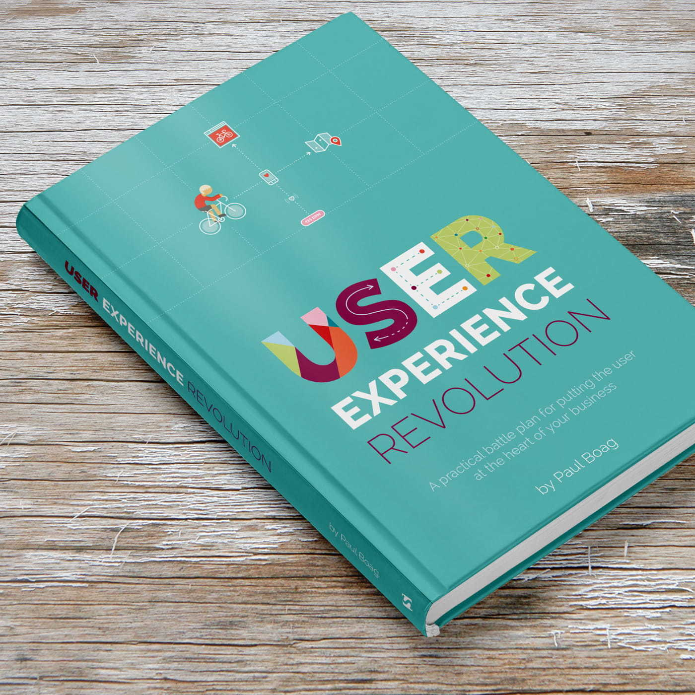 The User Experience Revolution book cover design