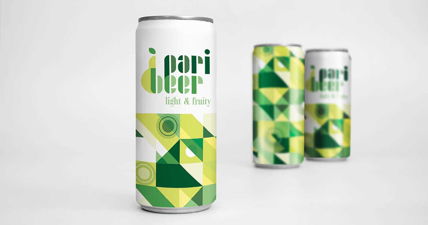 Bari Beer logo brand design for the Adobe Hidden Treasures Logo Design Challenge
