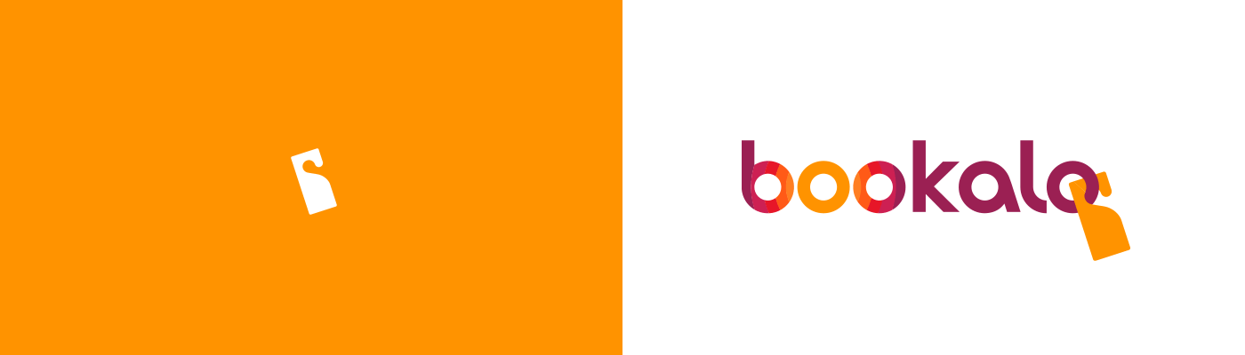 Bookalo logo design
