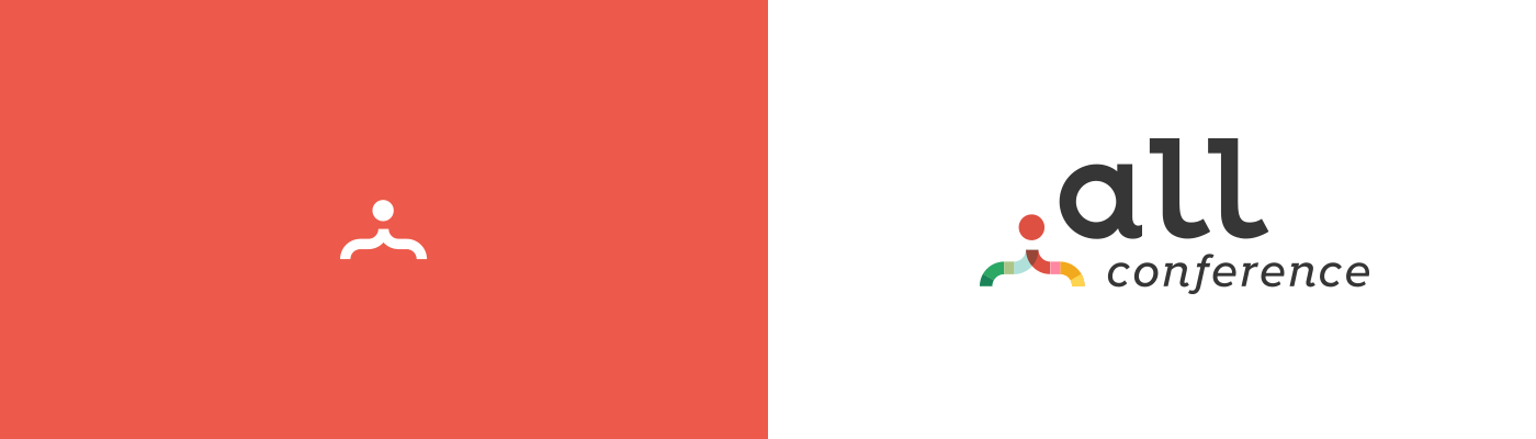 dotAll logo design