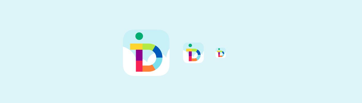 iDreamers iPhone app icon design