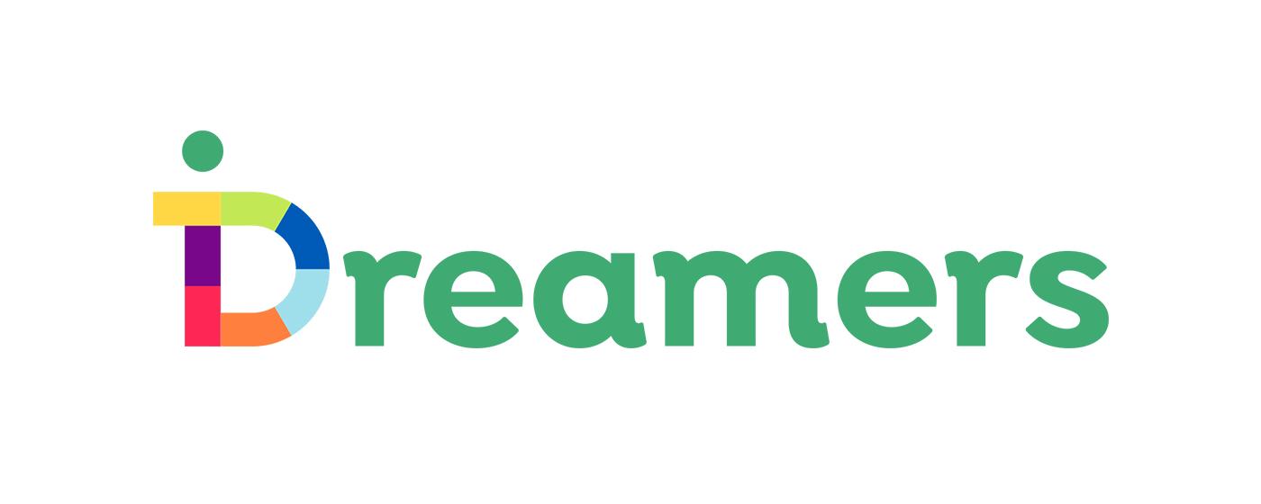 iDreamers logo brand& iPhone app design