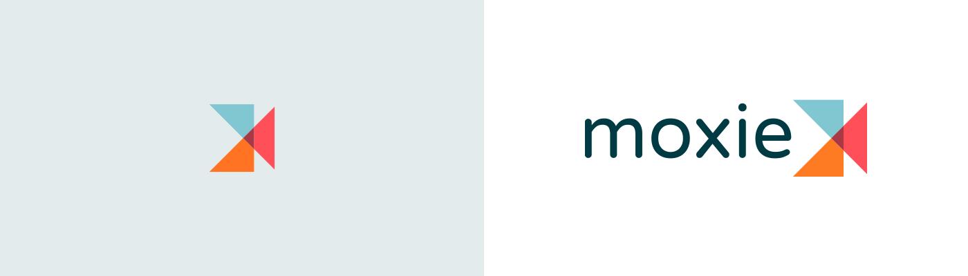 Moxie logo design