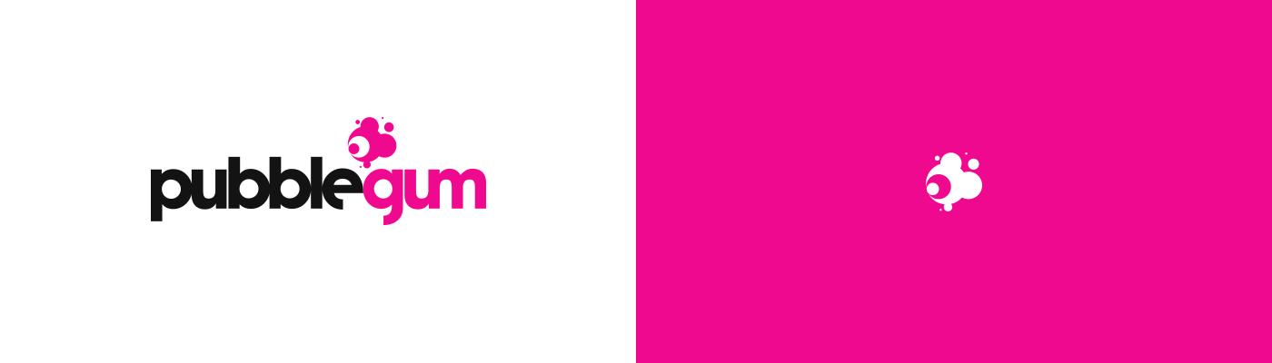 Bubblegum logo design