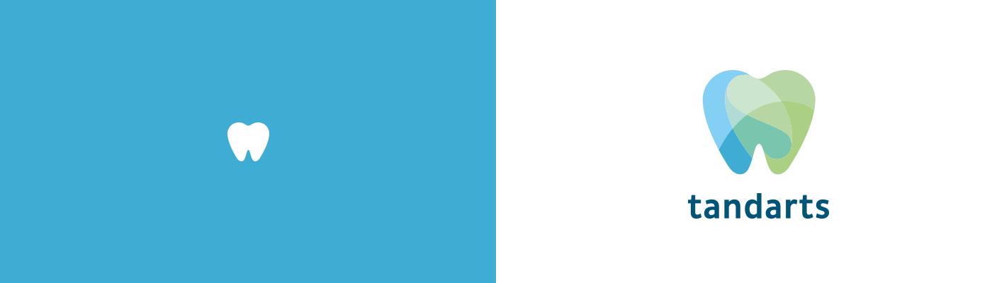 Tandarts Schiettecatte logo design