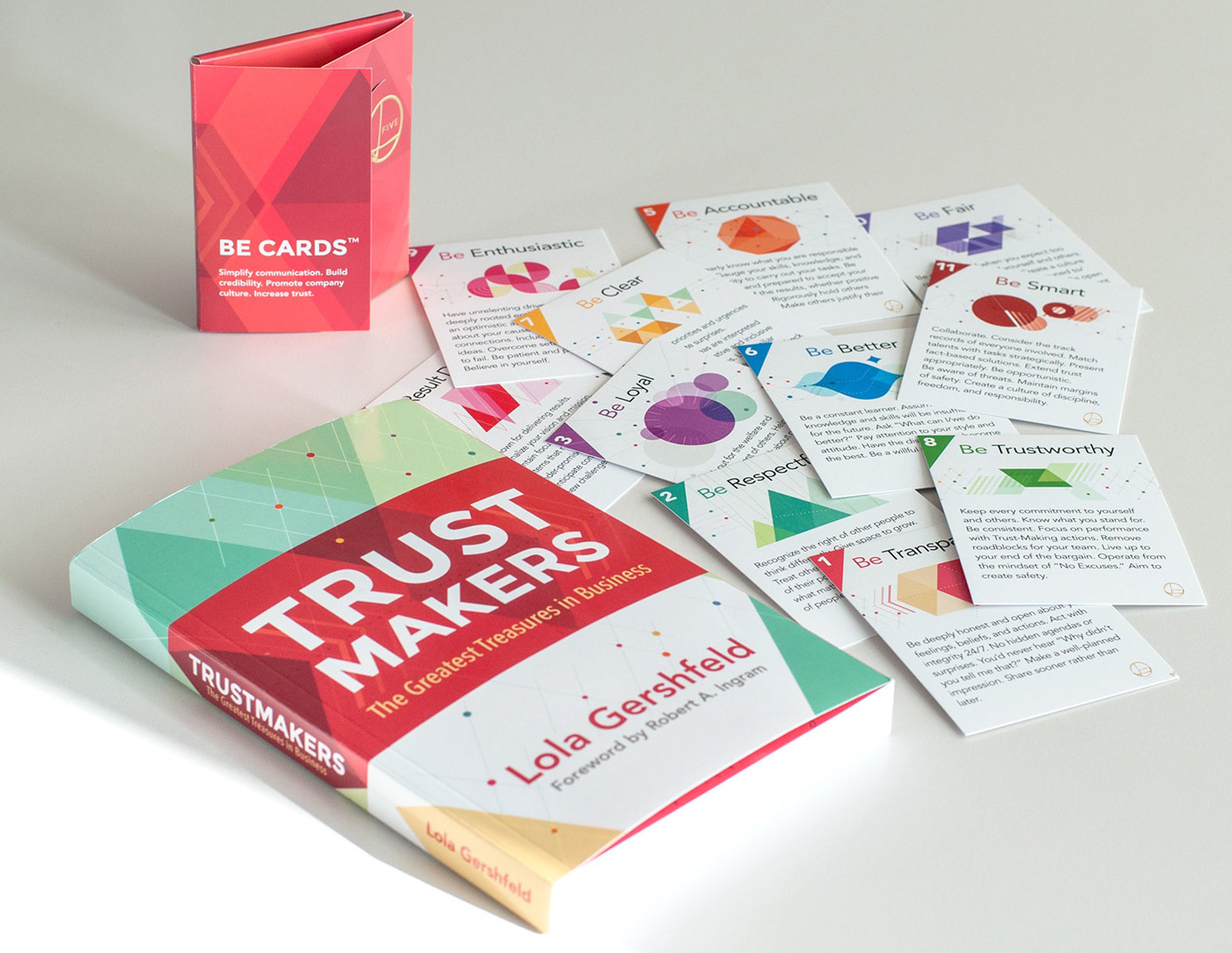 Trustmakers book cover design& book layout