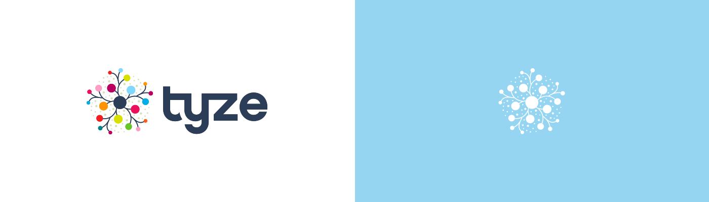 Tyze logo design